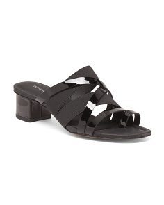 Melisa Patent Leather Strappy Sandals