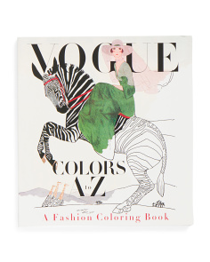 Vogue Colors A To Z Adult Coloring Book