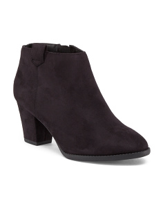 Zenith Low Booties