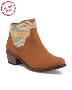 Penelope Low Boots With Tapestry