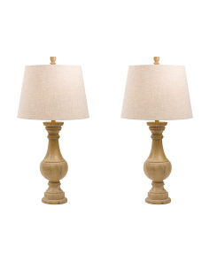 Set Of 2 Decorative Table Lamps