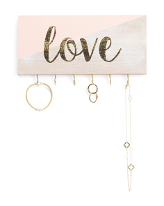 Love Wall Jewelry Organizer