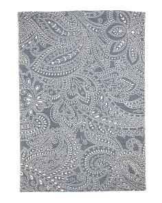 Made In India 5x7 Braided Paisley Rug