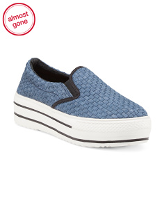 Twin Gore Stretch Slip On Shoes