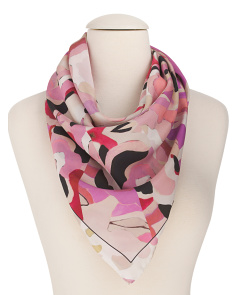Made In Italy Silk Scarf