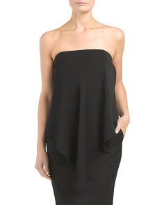 Strapless Draped Top