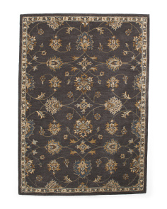 Made In India 5x8 Hand Tufted Wool Rug