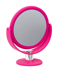 1x/10x Soft Touch Standing Mirror
