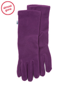 Extra Long Fleece Gloves