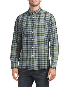 Racecourse Slub Madras Shirt