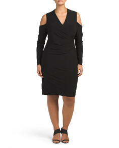 Plus Dawnie Matte Jersey Dress