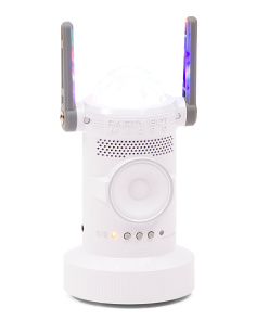 Party Bot Motorized Bluetooth Speaker