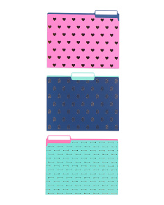 9ct Icon Assorted File Folders