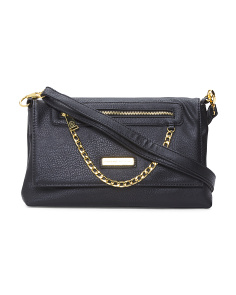 Chain Zip Crossbody