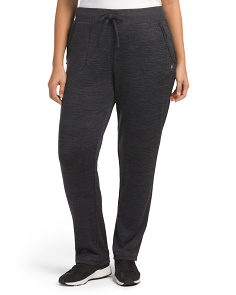 Plus Active Slim Straight Pants