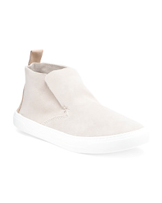 Unlined Mid Suede Sneakers