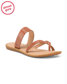 Enders Toe Ring Leather Sandals