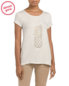 Made In Usa Stone Pineapple Top
