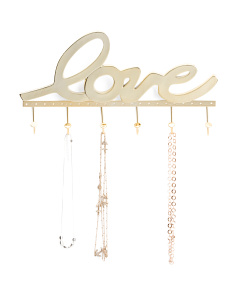 Love Wall Hanging Jewelry Holder