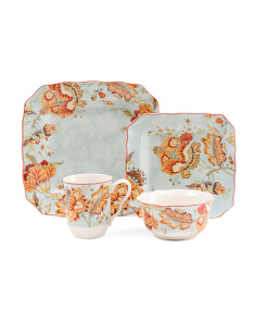 32pc Gabrielle Dinnerware Set