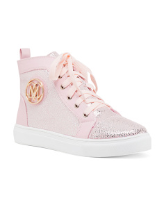 Lace Up High Top Fashion Sneakers