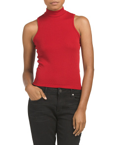 Juniors Made In USA Sleeveless Top