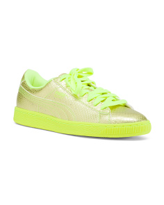 Reptile Embossed Fashion Sneakers