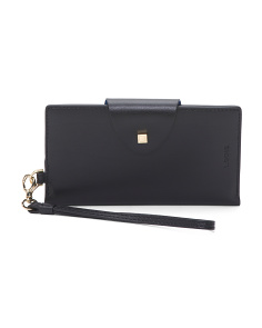 Blair Lynne Flap Leather Card Case