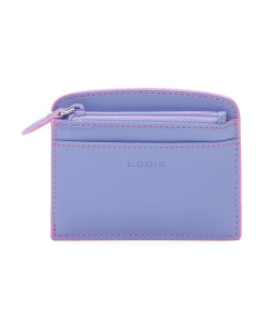 Audrey Laci Leather Card Case