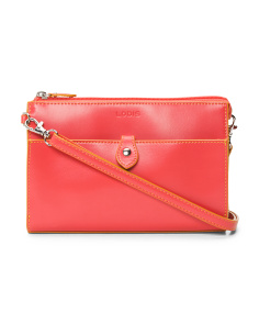 Audrey Vicky Leather Crossbody