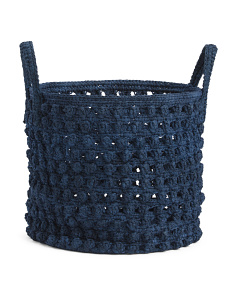 17in Rope Basket