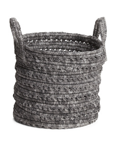 14in Woven Rope Basket