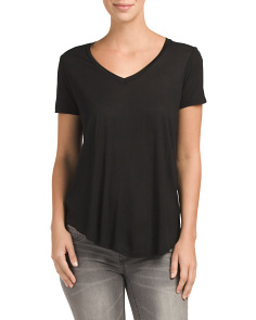 V Neck Long Top