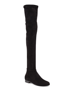 Made In Italy Myren Suede Over The Knee Boots