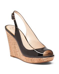 Jenri Sling Back Wedges