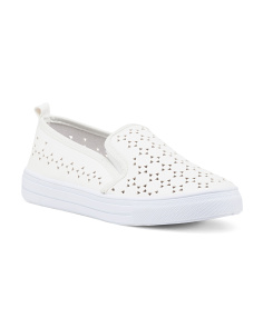 Reba Perforated Slip Ons