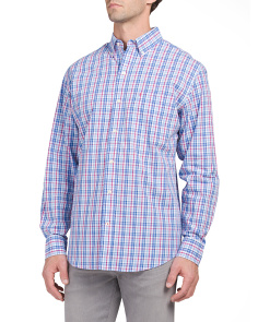 Peached Poplin Shirt