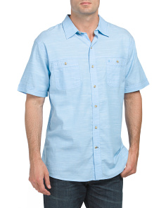 Dockside Slub Chambray Solid Shirt