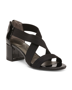 Xband Sandals With Block Heel