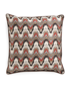 Made In USA 22x22 Cascade Woven Pillow