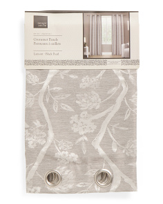 38x84 Lamont Textured Curtains