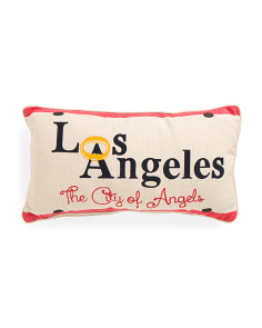 Made In India 14x26 Los Angeles Pillow