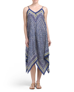Silk Tropicale Dress