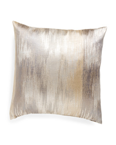 Made In USA 22x22 Waterfall Metallic Pillow