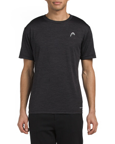 Space Dye Hypertek Short Sleeve Top