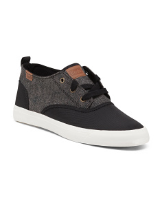 Tweed Lace Up Sneakers