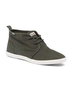 Slip On Chukka Canvas Sneakers