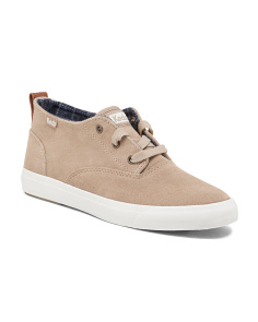 Triumph Lace Up Suede Sneakers