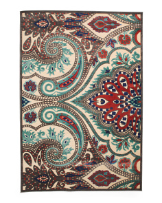 Made In Turkey 5x8 Textured Area Rug