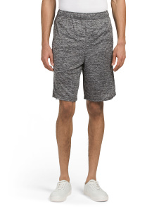 Striated Workout Shorts